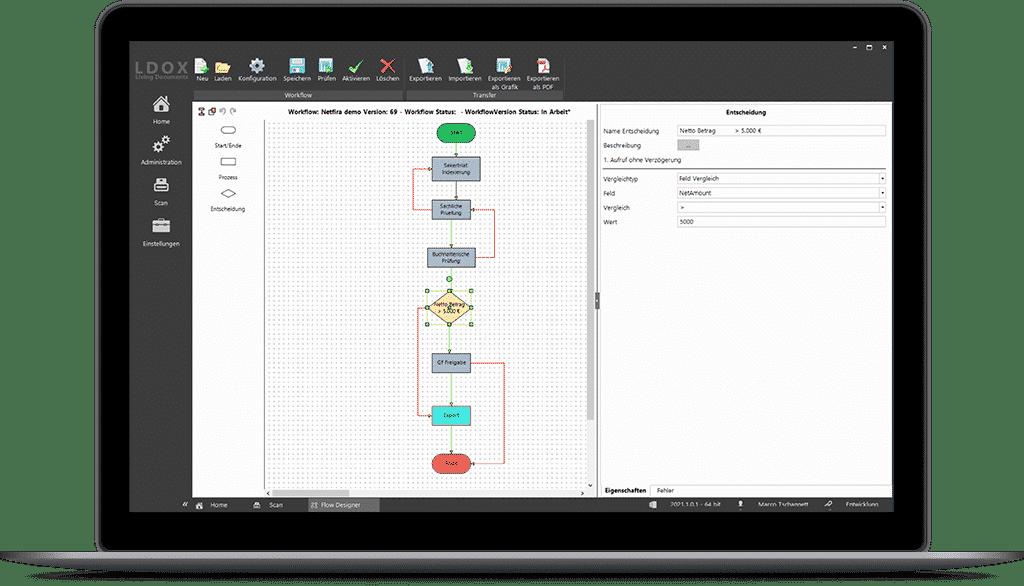 LDOX.Flow - Workflow Designer